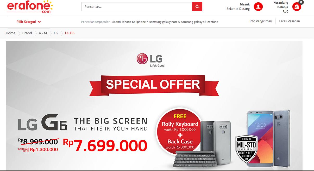 Harga LG G6