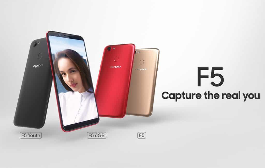 OPPO F5 selfie