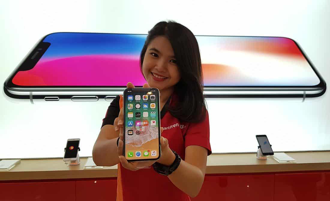 iPhone 8 Plus dan iPhone X