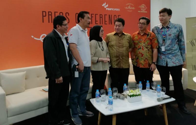 EV Hive Pos Indonesia