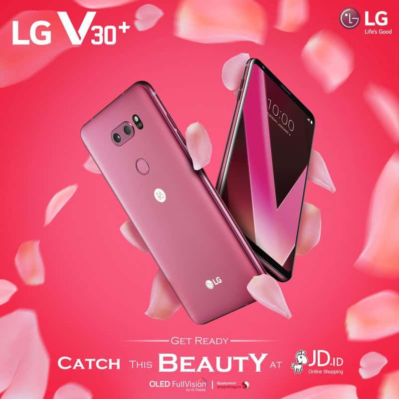 LG V30 PLUS Raspberry Rose