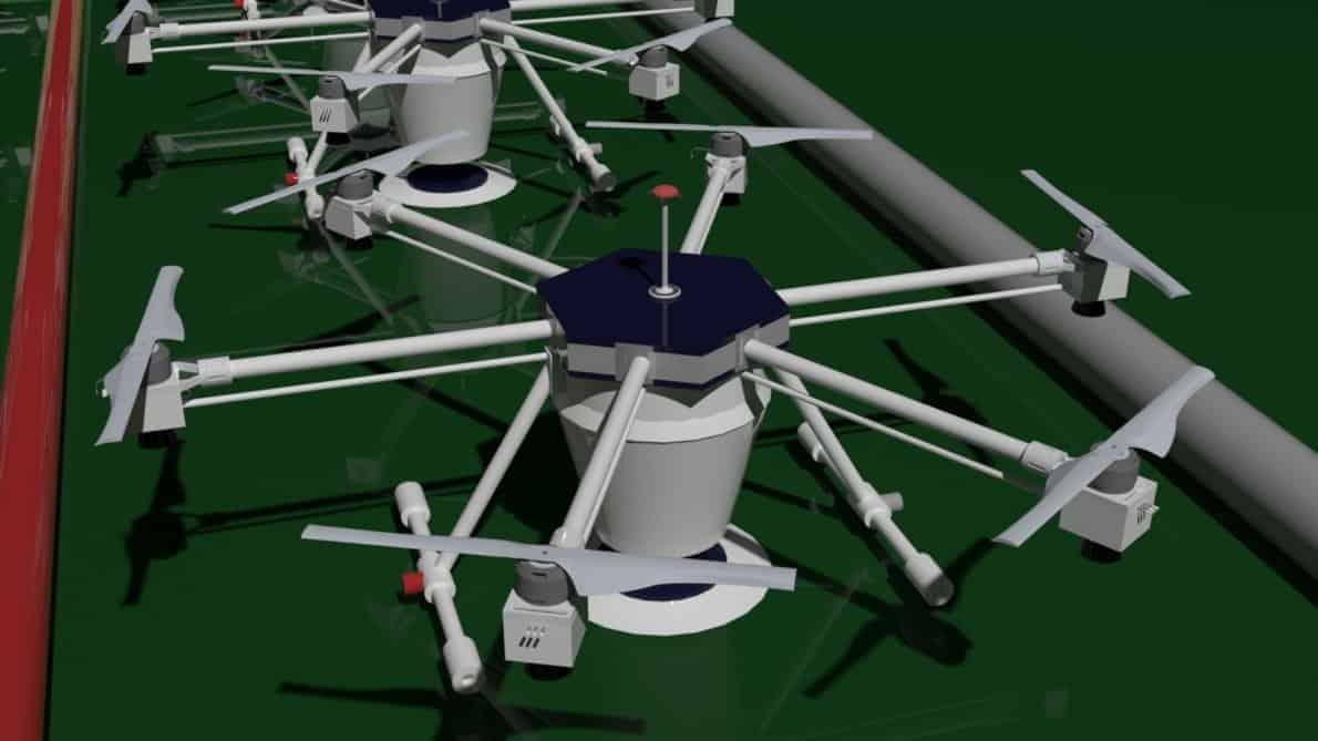 Teknologi BeeHive Drones