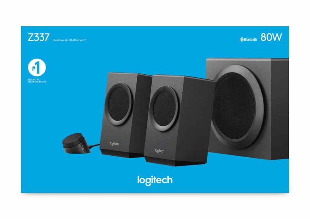 Speaker Desktop Logitech Z337