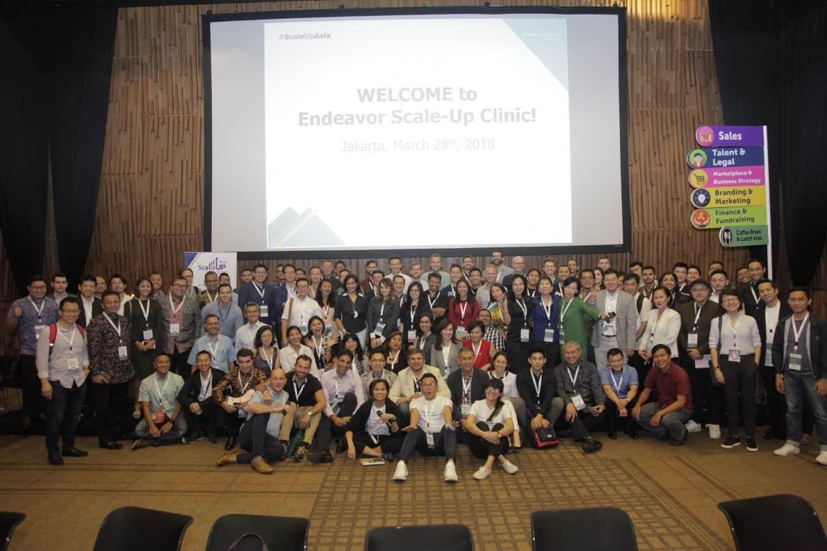 Peserta dan mentor Scale-Up Asia 2018