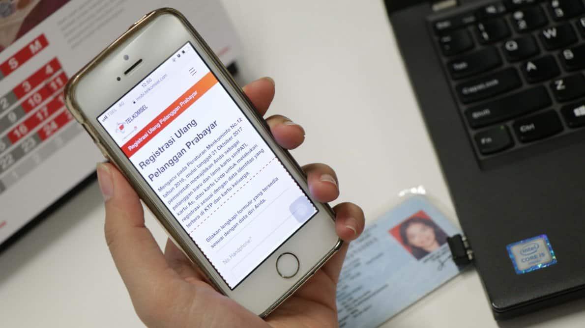 registrasi ulang prabayar telkomsel