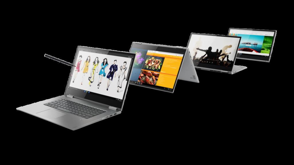 Versatile 15 inch Lenovo Yoga 730 2 in 1 convertible