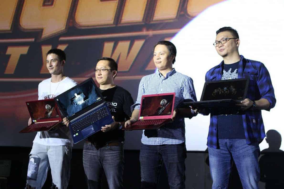 Peluncuran laptop Acer Avengers Infinity War Series