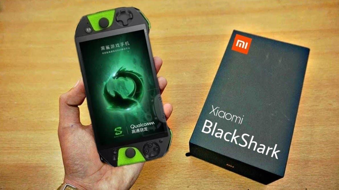 Smartphone Xiaomi Blackshark. Foto oleh YouTube.com