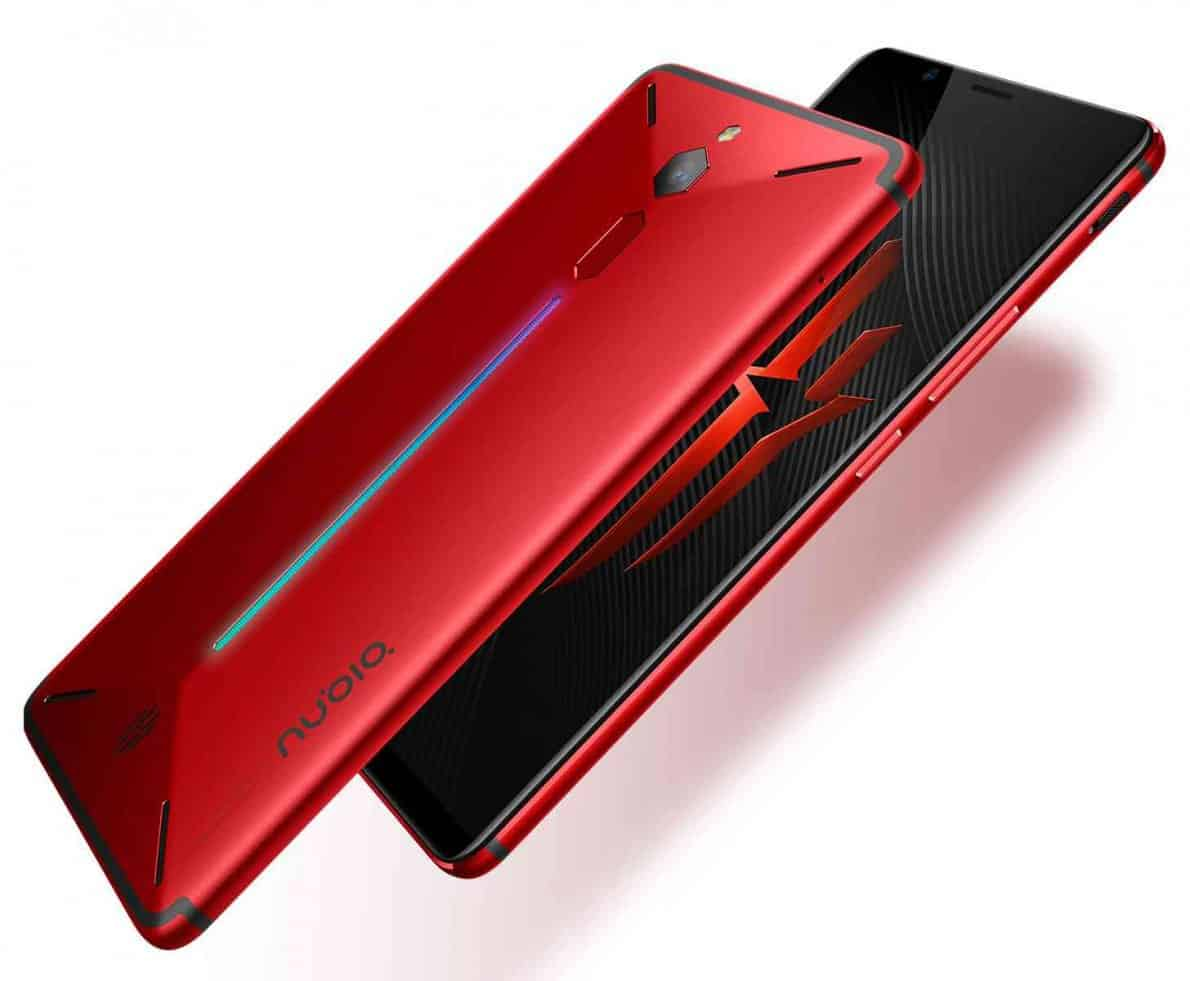 Smartphone Nubia Red Magic. Foto oleh phonedog.com
