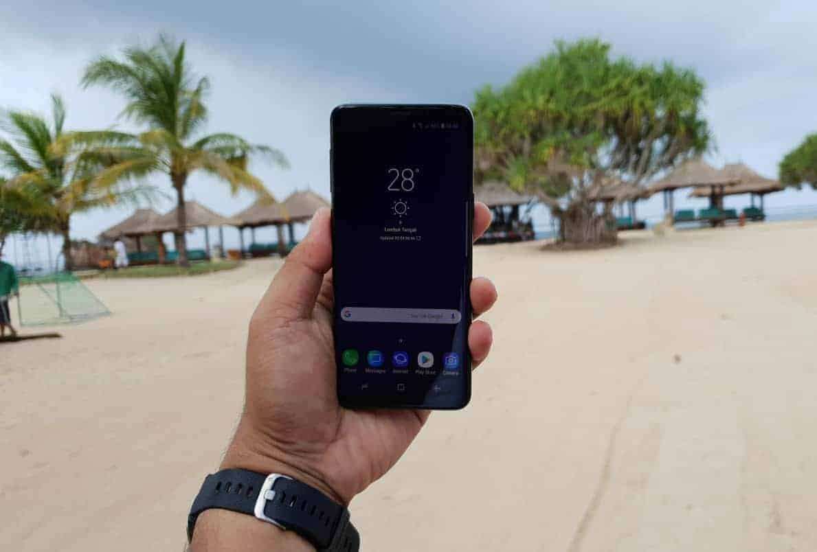 Review Menguji Ketangguhan Samsung Galaxy S9 Plus