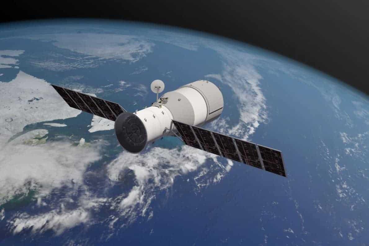 Pesawat luar angkasa Tiangong-1. Foto oleh theverge.com