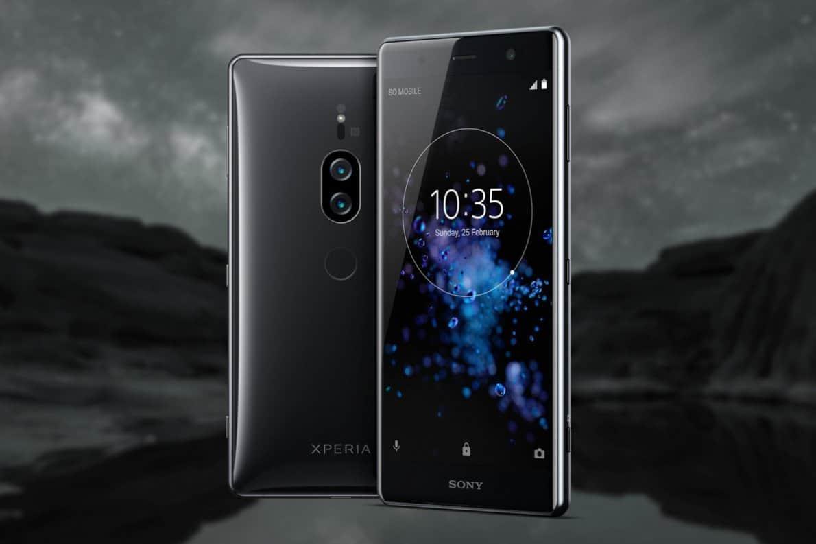 Sony Xperia XZ2 Premium. Foto oleh theverge.com