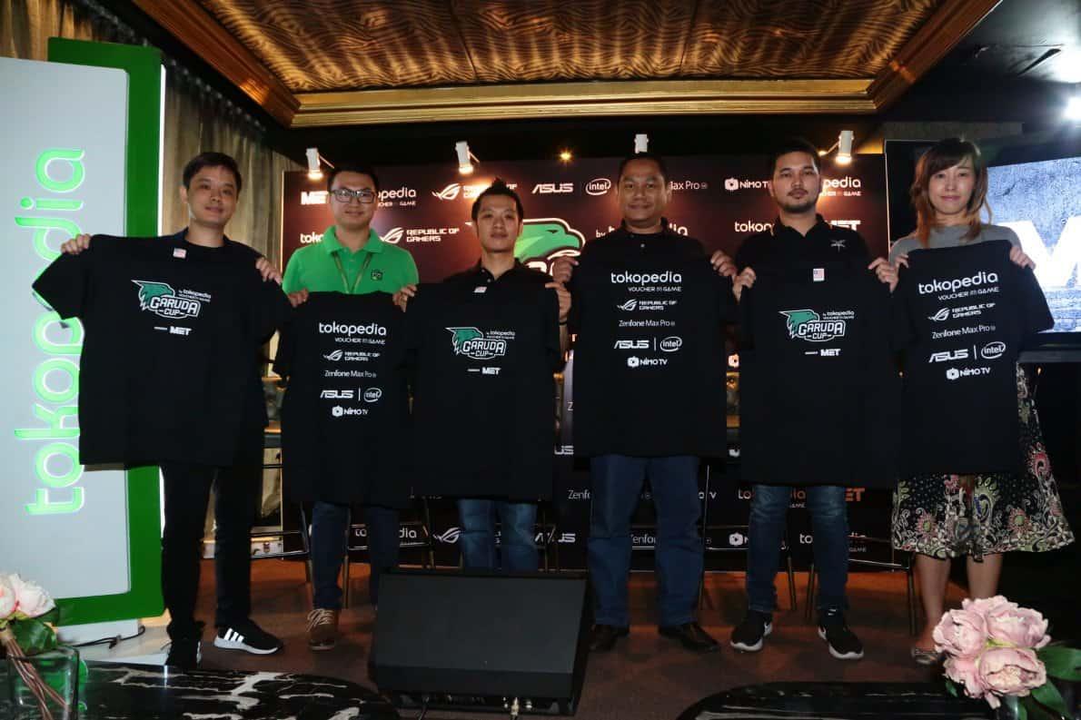Konferensi pers jelang grand final Garuda Cup 2018