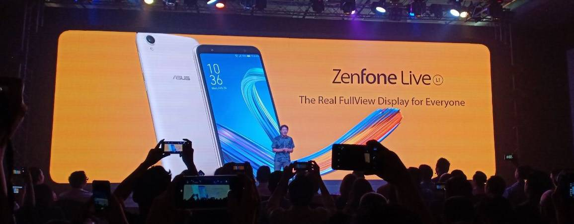 Asus Zenfone Live L1 fullview