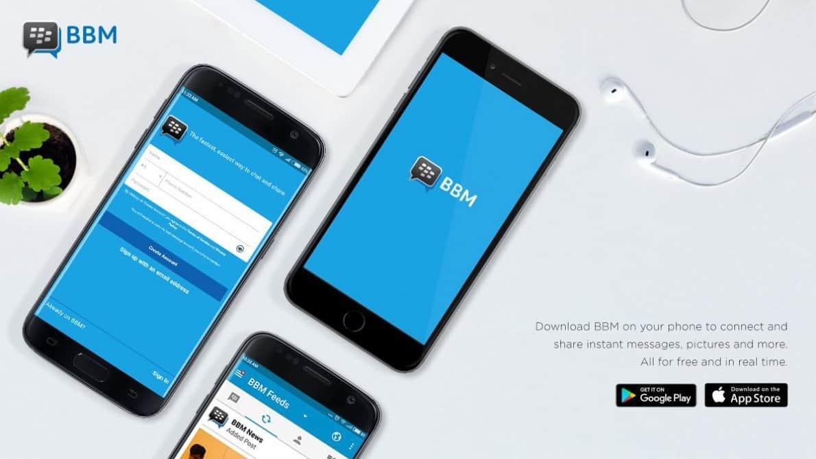 Versi terbaru BBM Messenger. Foto oleh dailysocial.id