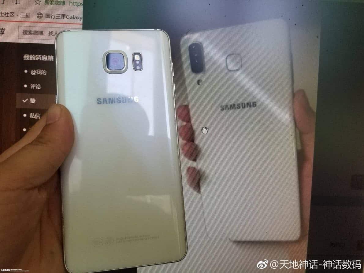 Samsung Galaxy Star A9. Foto oleh slashleaks.com