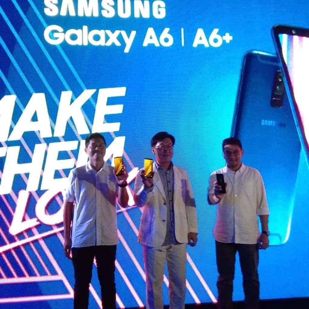 Rilis Samsung Galaxy A6 & A6+