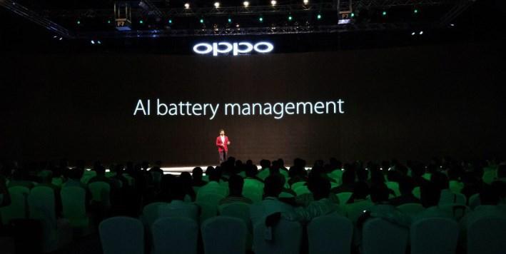 OPPO AI battery