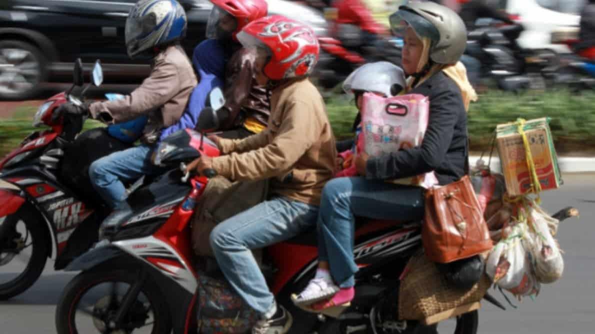 Fasilitas pinjaman bengkel Awan Tunai kini menjangkau pemudik bersepeda motor. Foto oleh BreakingNews.co.id