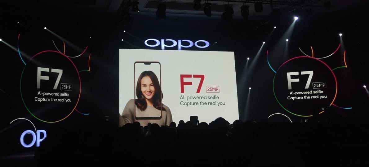 teknologi ai di oppo f7