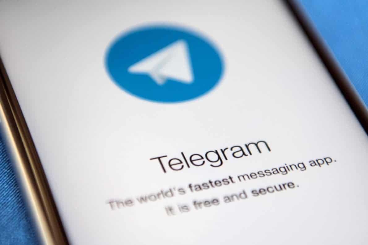 Aplikasi Telegram di App Store. Foto oleh ibtimes.co.uk