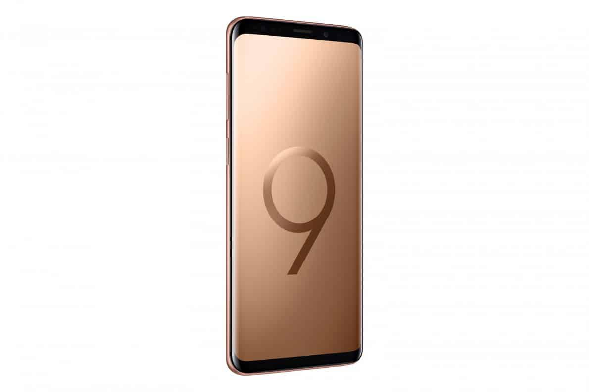 Galaxy S9 Plus Sunrise Gold 2