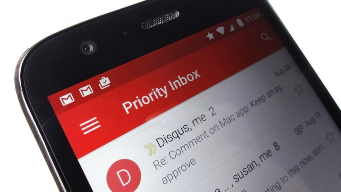 Update Gmail