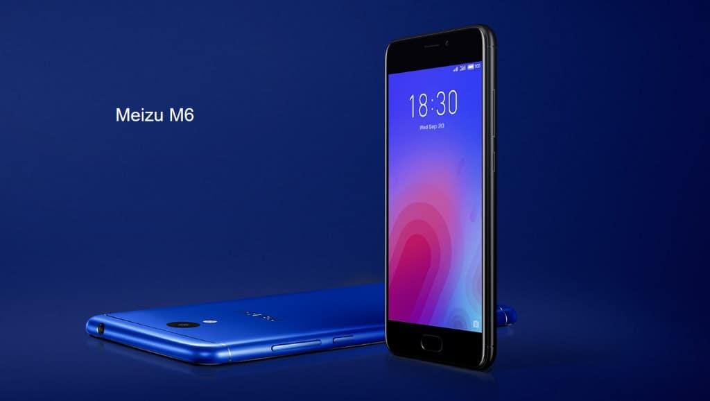 Meizu M6 design