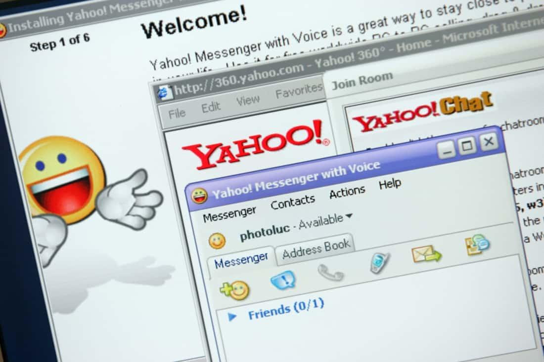 Yahoo Messenger. Foto oleh techspot.com