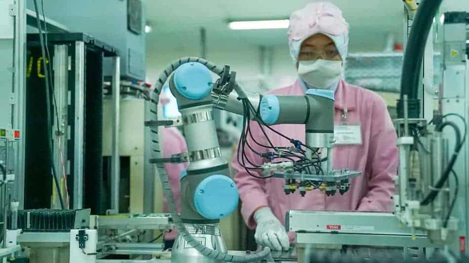 Robot kolaboratif