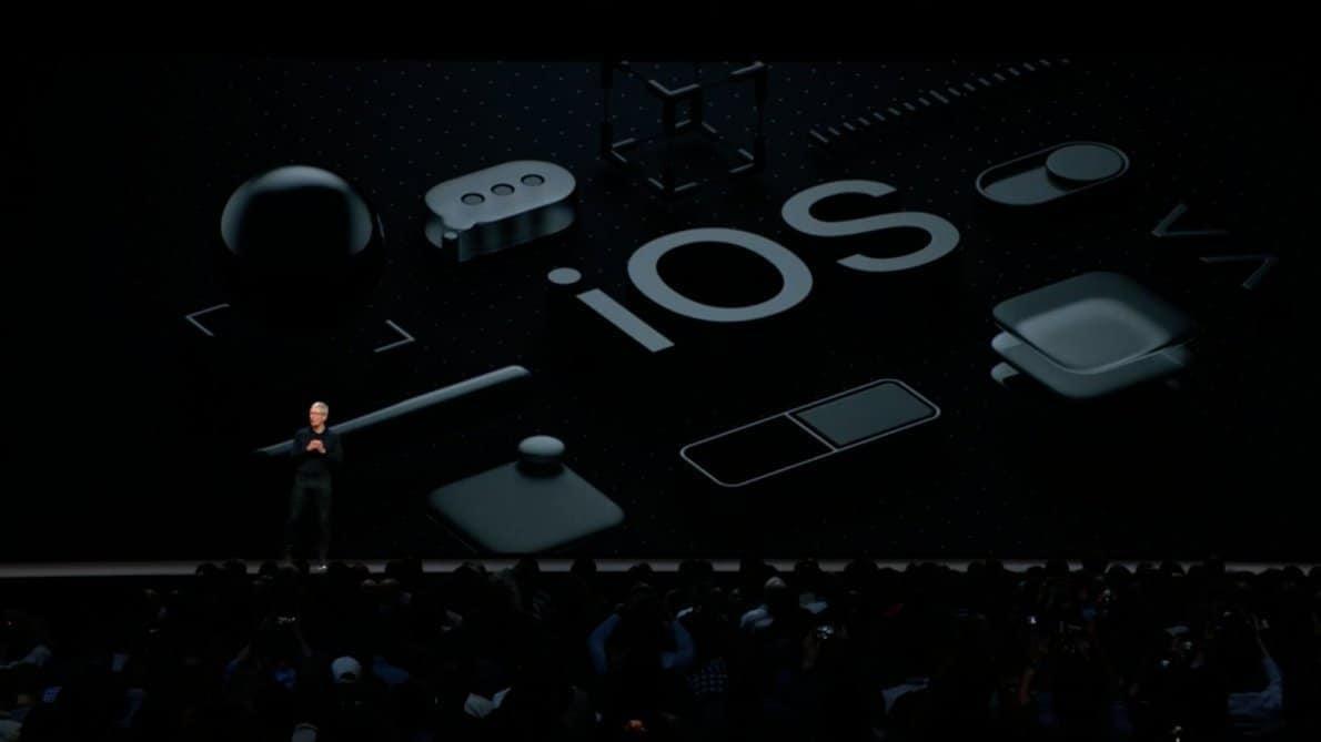 Rilis iOS 12 terbaru di California. Foto oleh 9to5mac.com