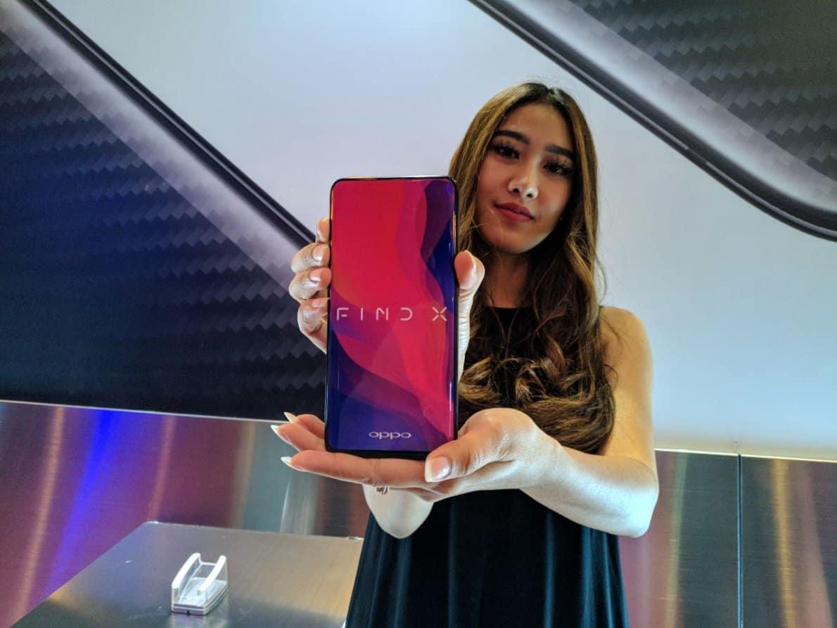 Ekspansi smartphone Oppo di Inggris via Oppo Find X