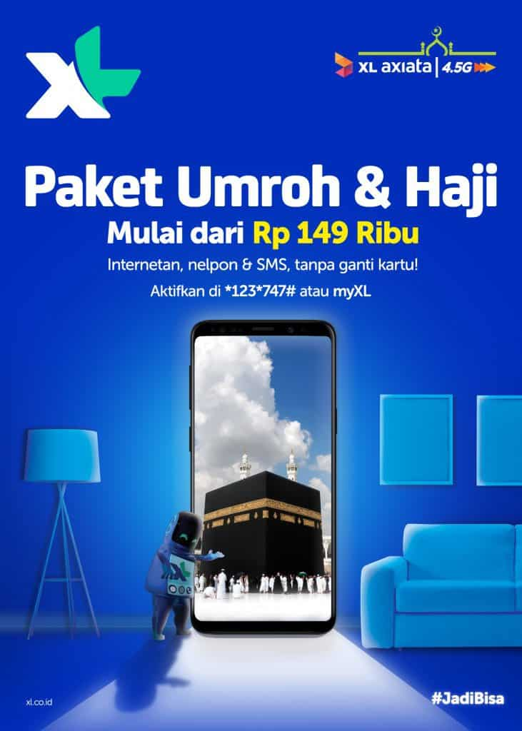 XL Haji Umroh