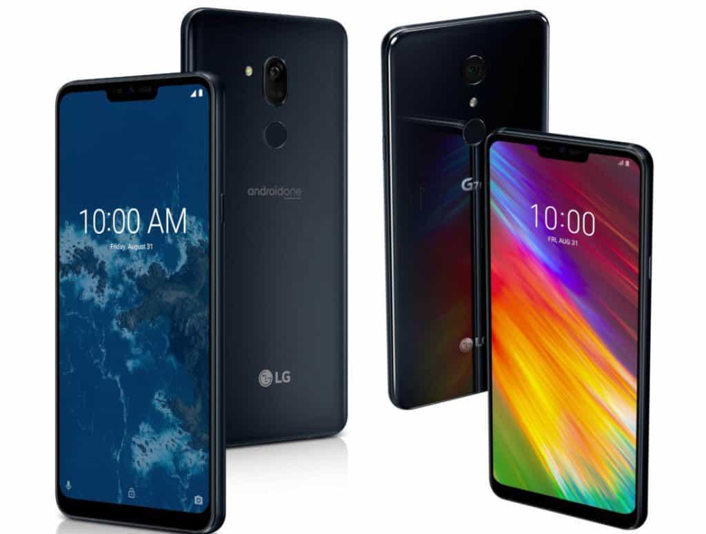 Duo LG G7. Foto oleh phonearena.com