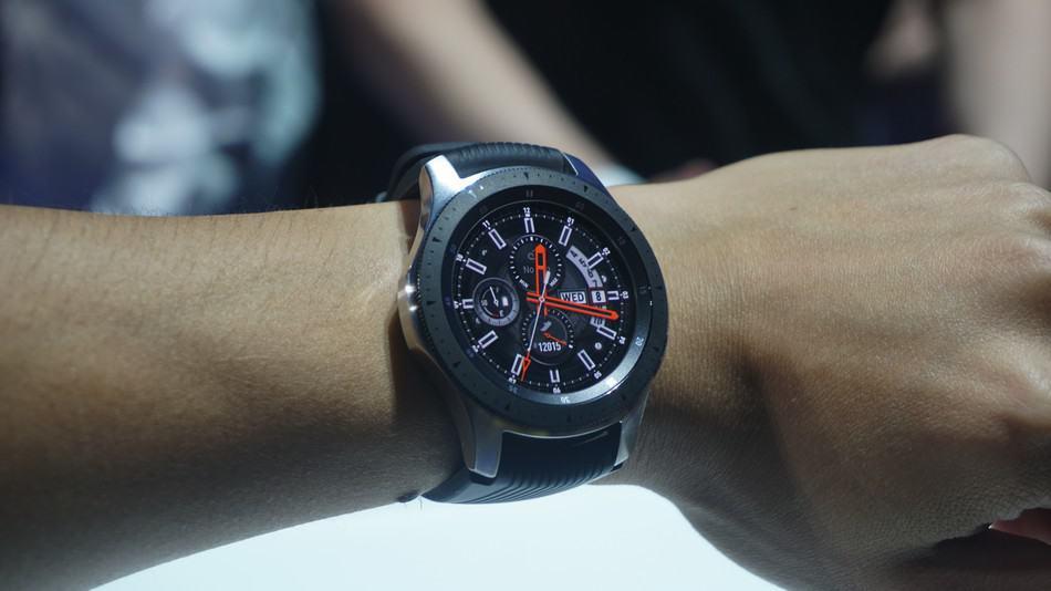 Samsung Galaxy Watch. Foto oleh trustedreviews.com