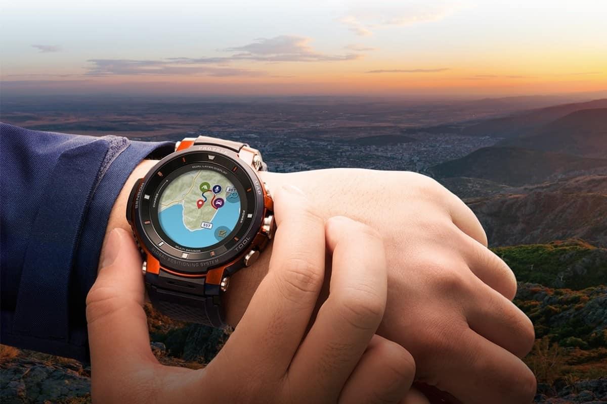 Casio Pro Trek Smart WSD-F30. Foto oleh tech2.net