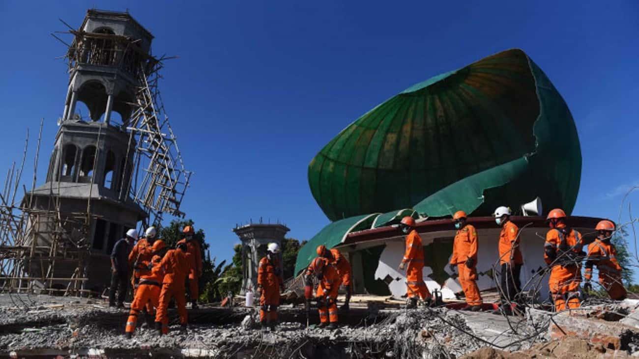 Respon Net1 Indonesia terhadap gempa di Lombok