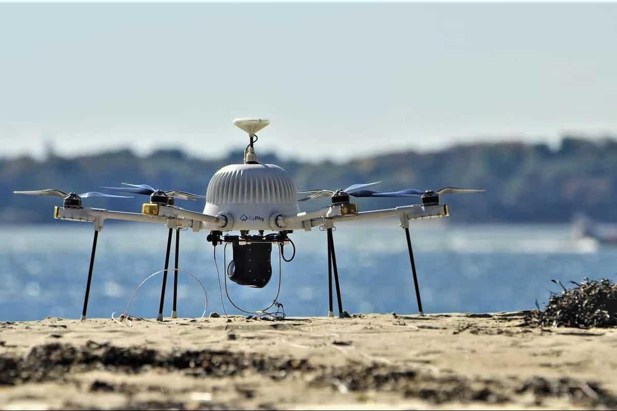 Drone tanggap darurat yang pernah dipakai saat Boston Marathon 2017. Foto oleh bostonherald.com
