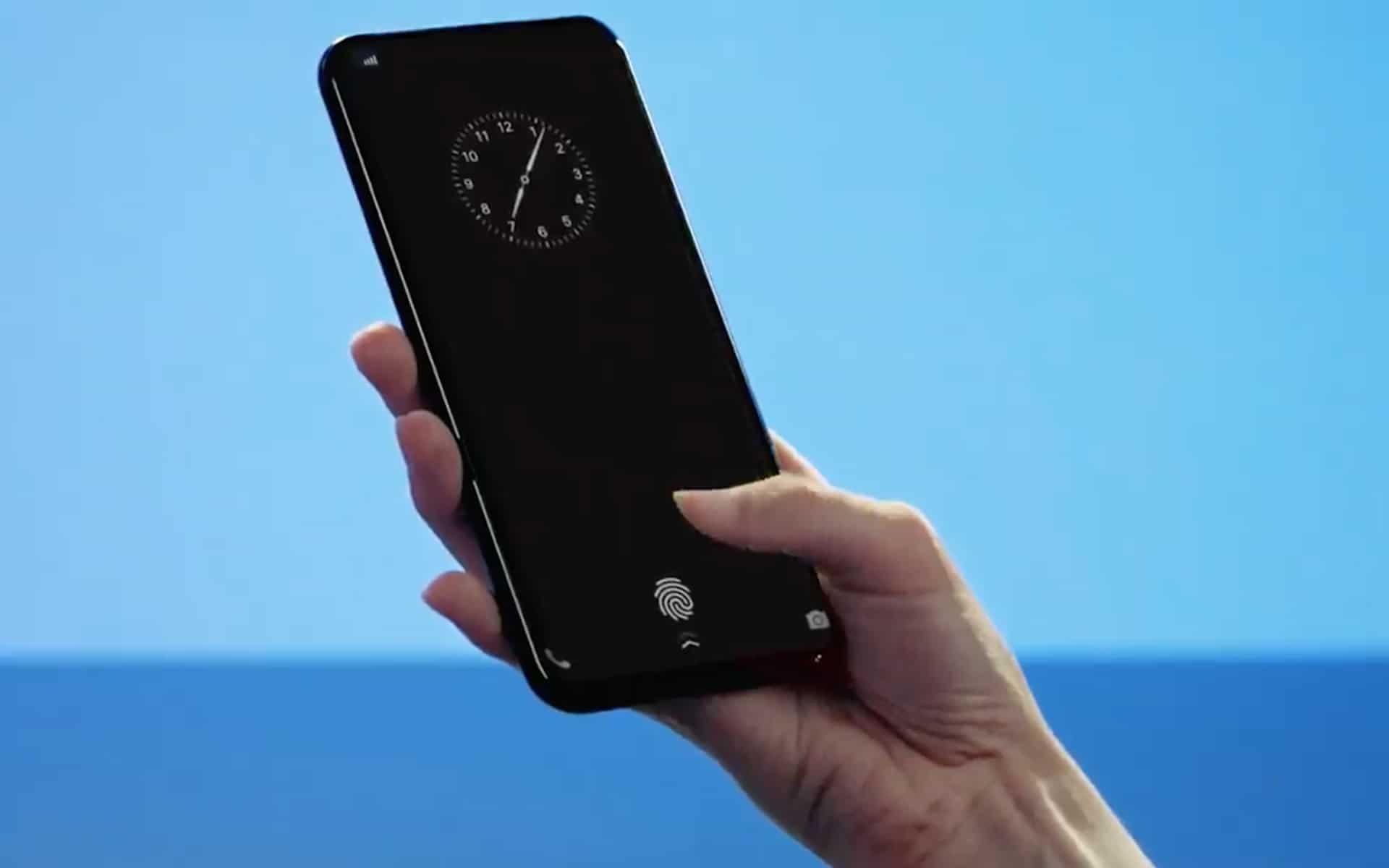 sensor sidik jari OnePlus 6