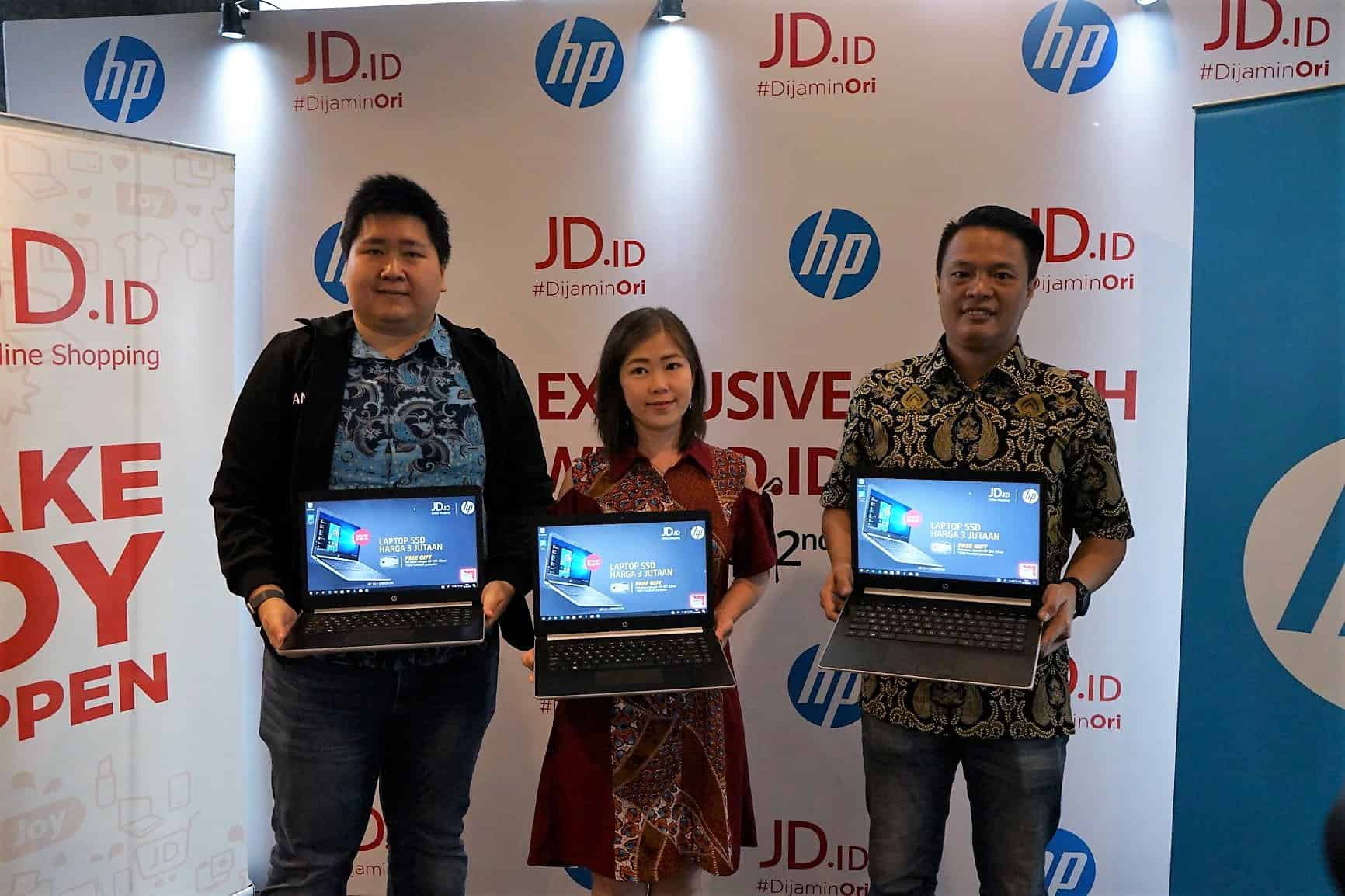 Peluncuran laptop HP Joy 2