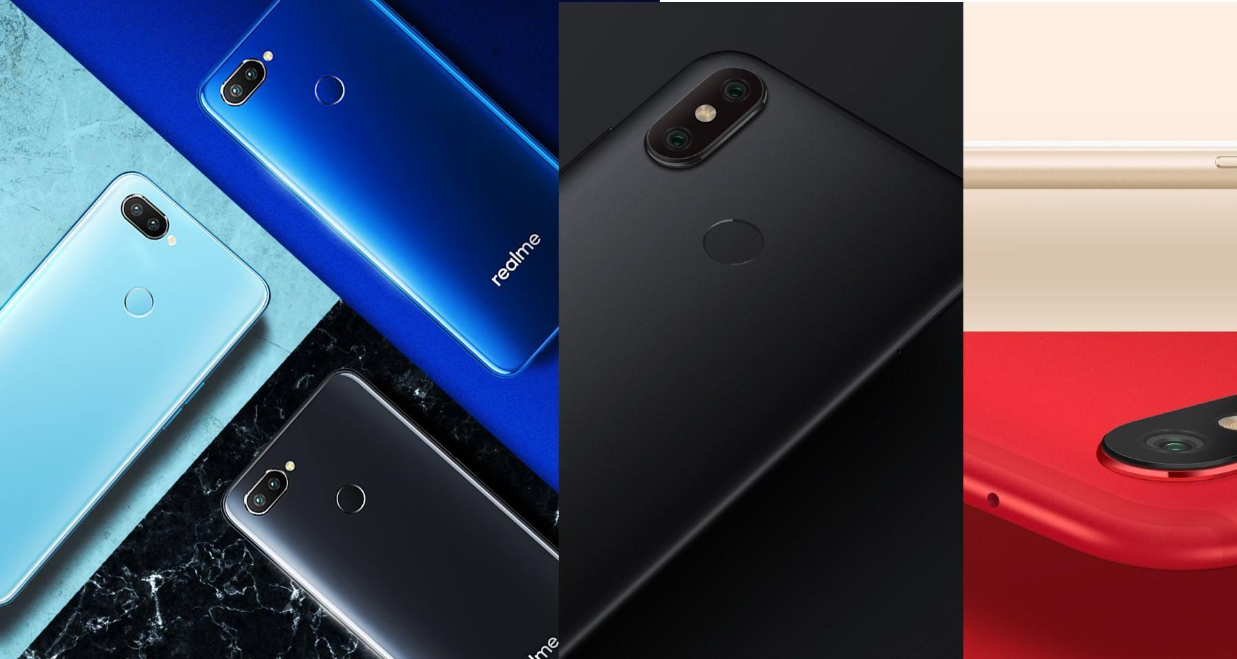 Realme 2 Pro Xiaomi Mi A2
