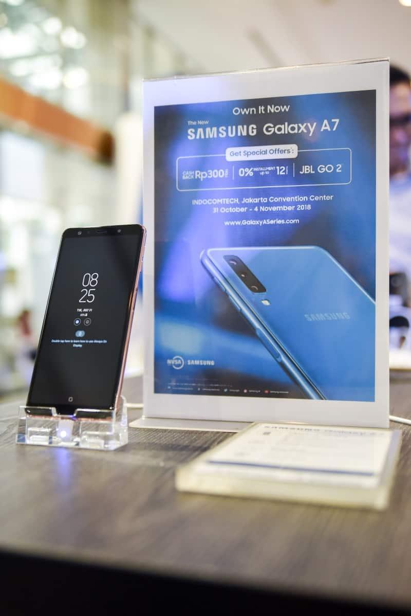 promo Galaxy A7 edit