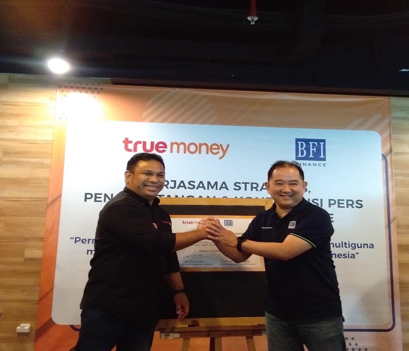 Kemitraan TrueMoney dan BFI Finance