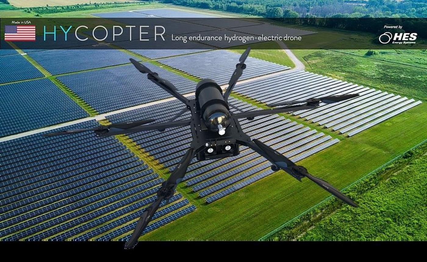 Hycopter drone. Foto oleh gasworld.com