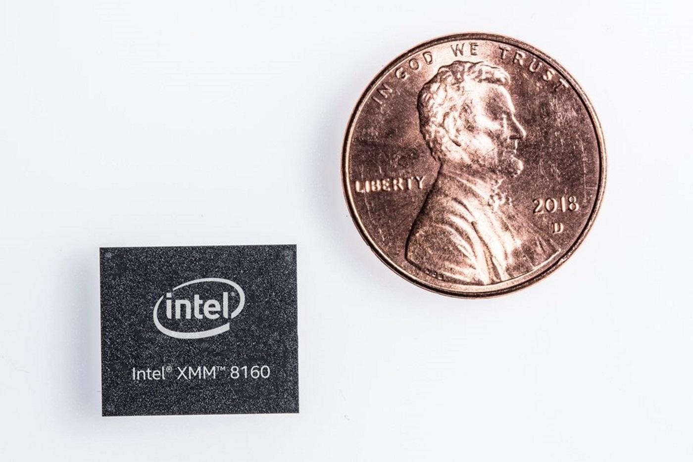 Modem 5G Intel. Foto oleh phonearena.com