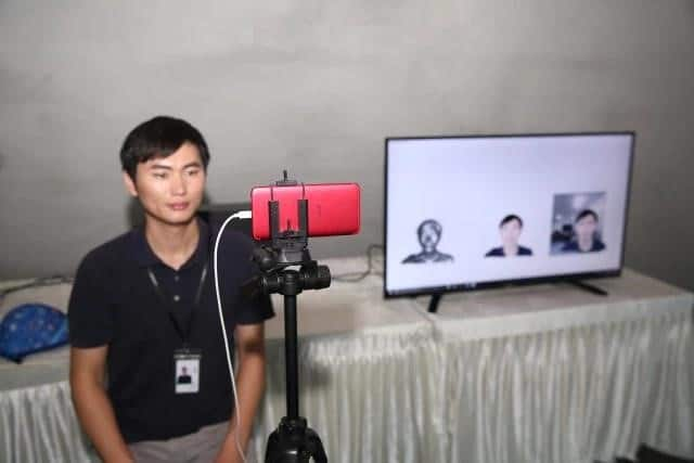 Video 3D dengan menggunakan OPPO R11s