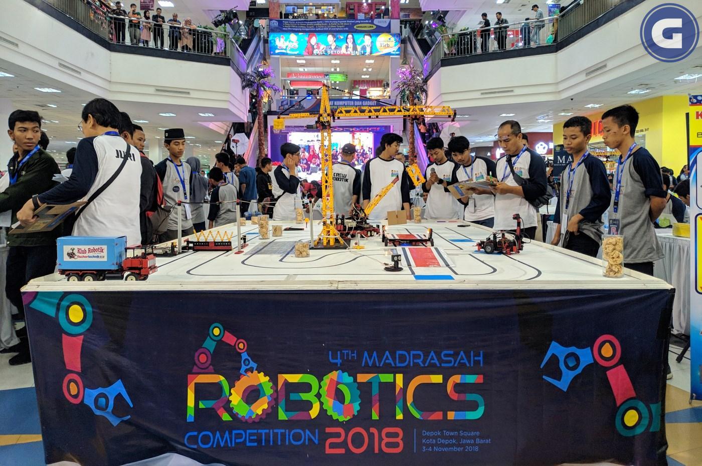 kompetisi robotik madrasah 2018