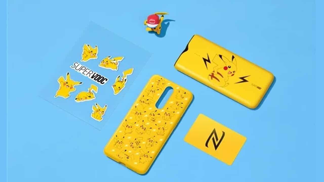 oppo power bank pikachu