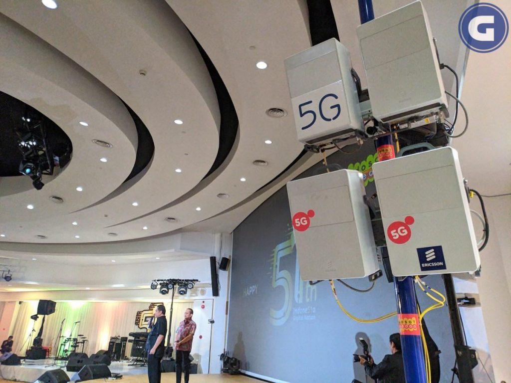 teknologi 5G ERicsson Indosat