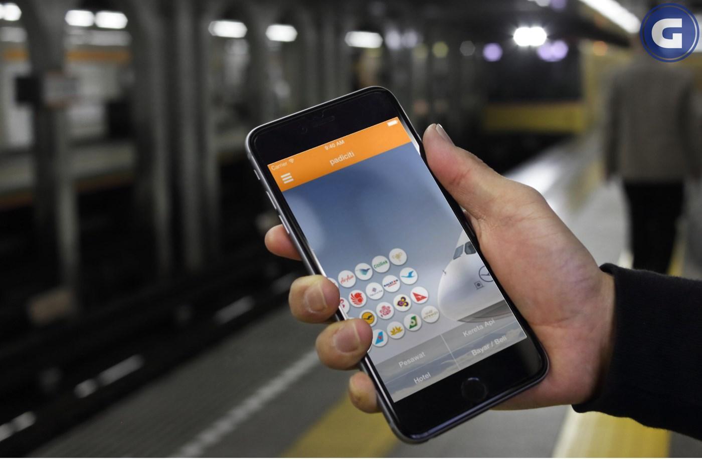 Aplikasi Travel Padiciti
